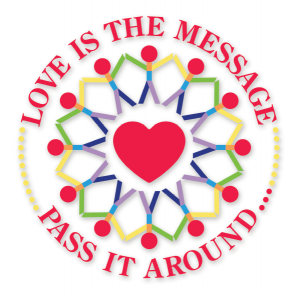 love is the message...pass it around